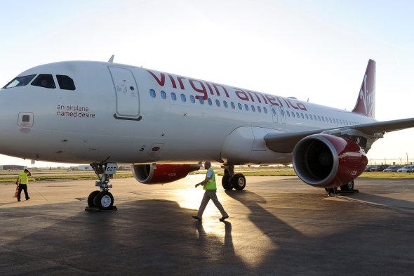 Masturbating passenger forces Virgin America plane to divert