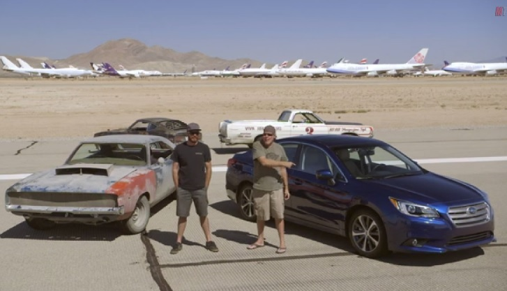 【ビデオ】スバル新型「レガシー」が3台の改造車と対決!