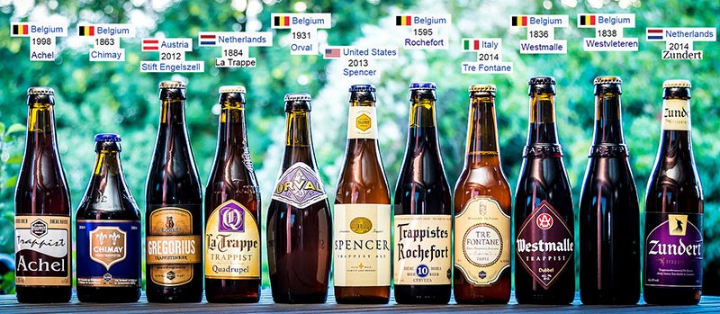 Cervezas trapenses, placer