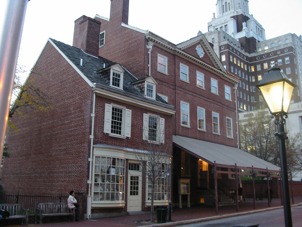 a history of the building of the old city of philadelphia Present-day elfreth's alley is the product elfreth's alley from the landscape of old city, philadelphia history of each home through the last three.