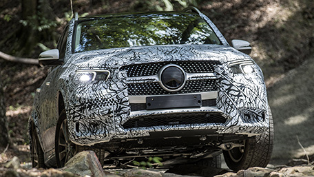2020 Mercedes-Benz GLE 450 Prototype
