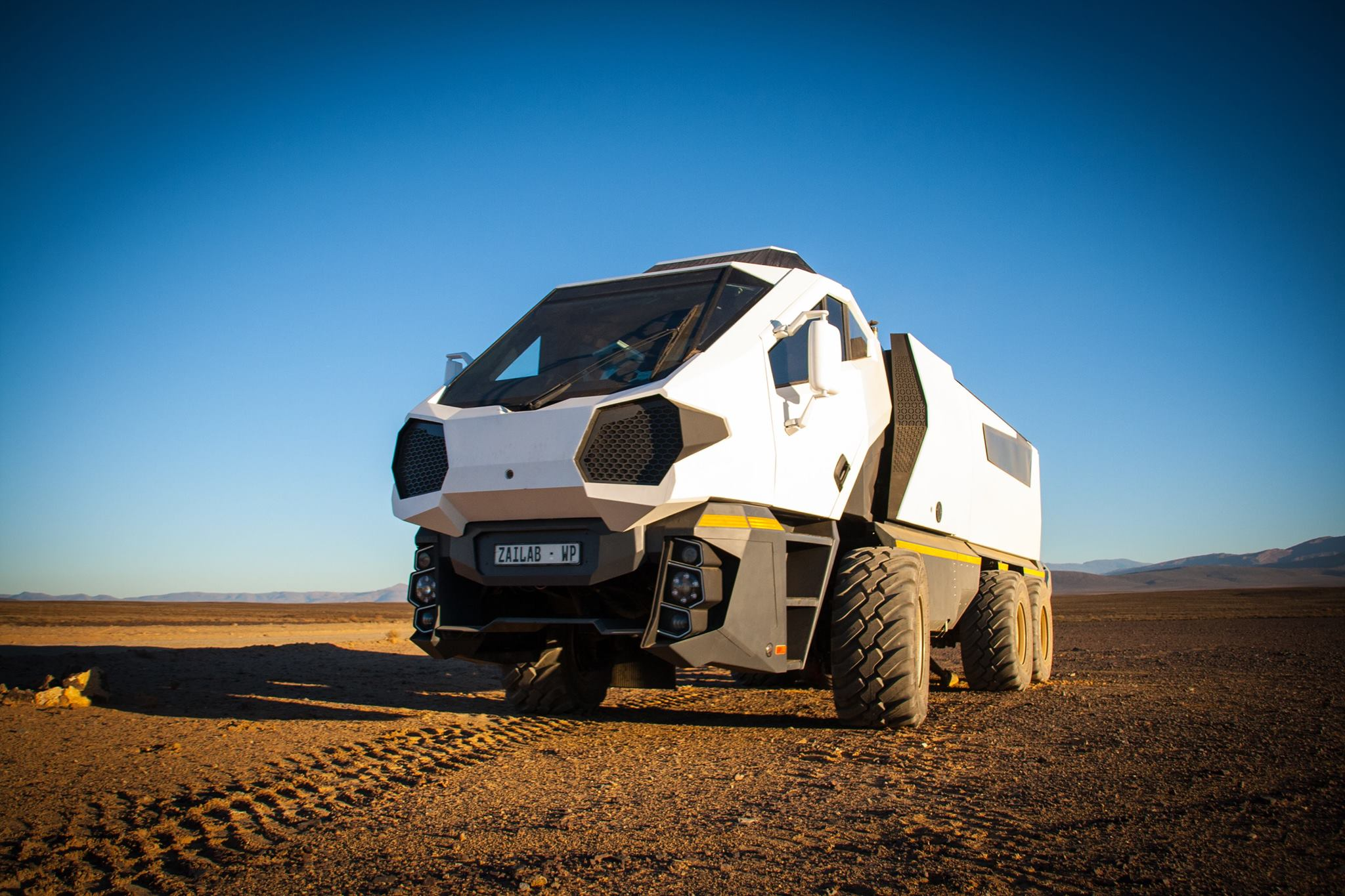Young Capetonians In Bold Cape-To-Cairo 'Space Truck'