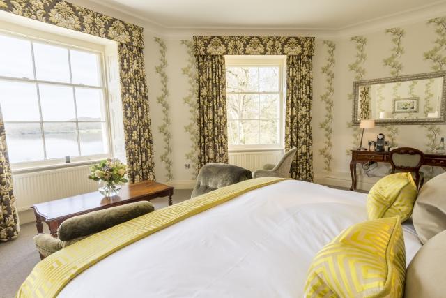 Storrs Hall bedroom