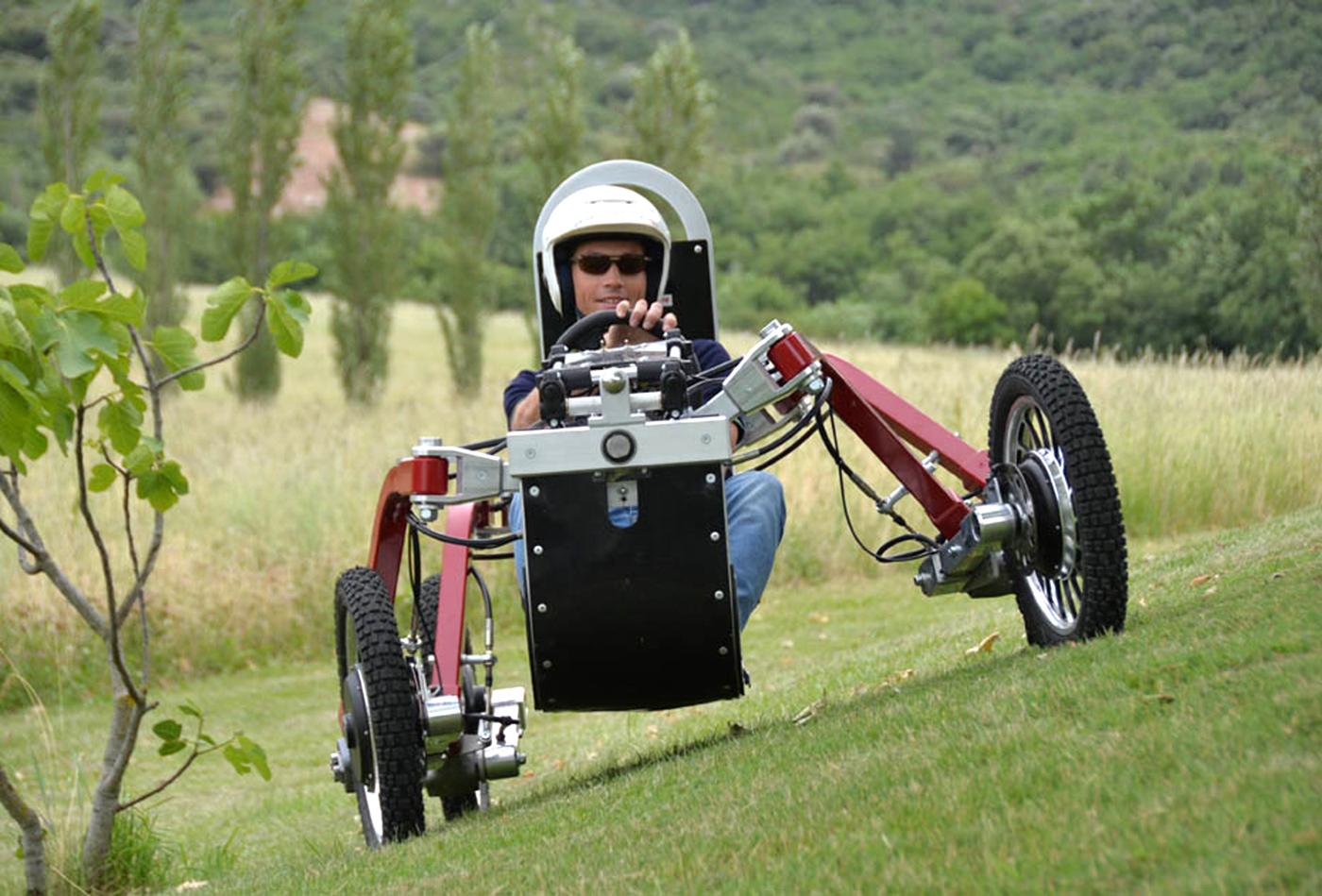 Electric Spider Car