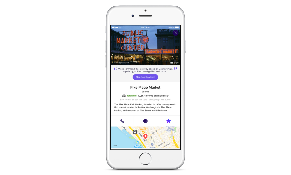 Yahoo's latest mobile app is a conversational travel planner