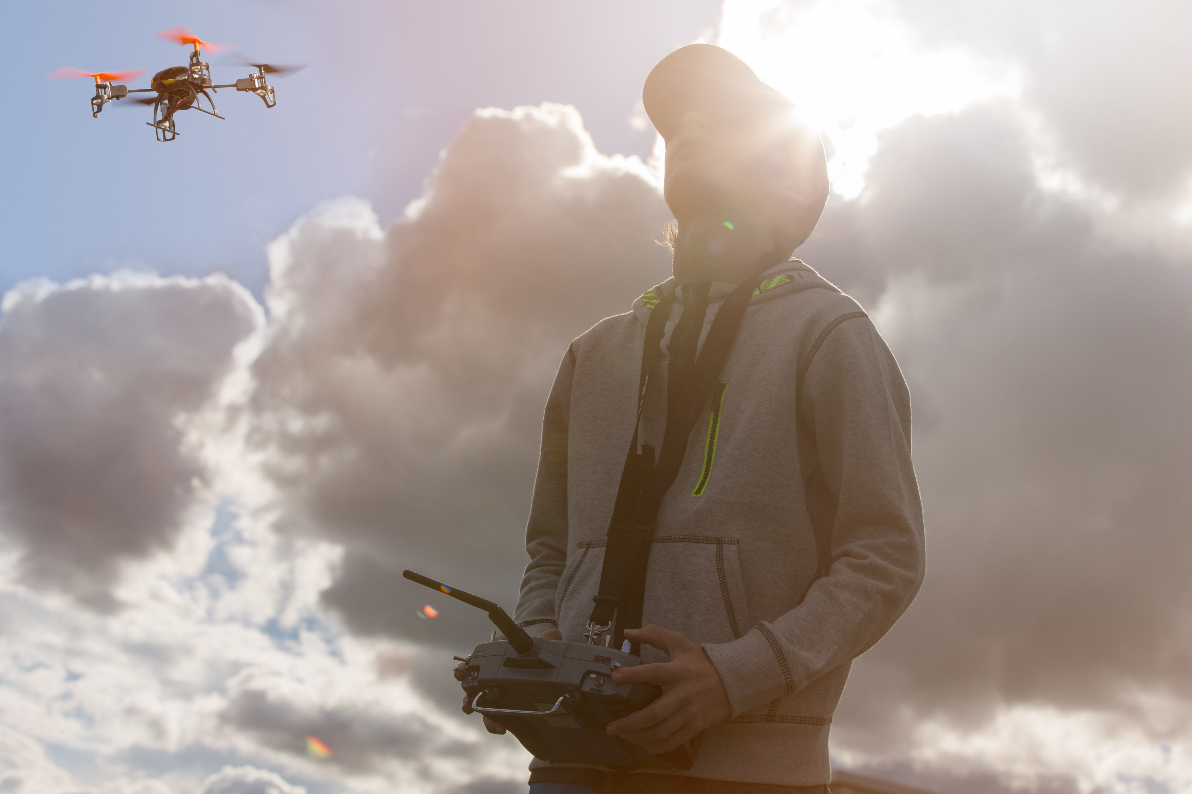If you want to train as a drone pilot, it costs less than $3000 and a five day