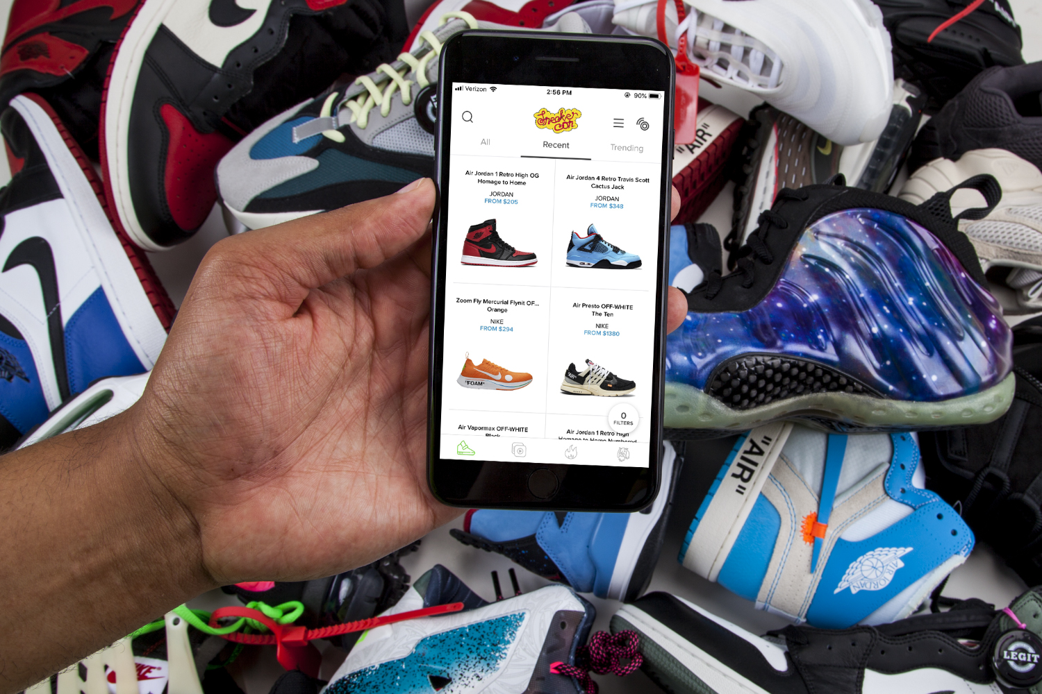 Sneaker Con bets NFC will keep fakes off its new shoe