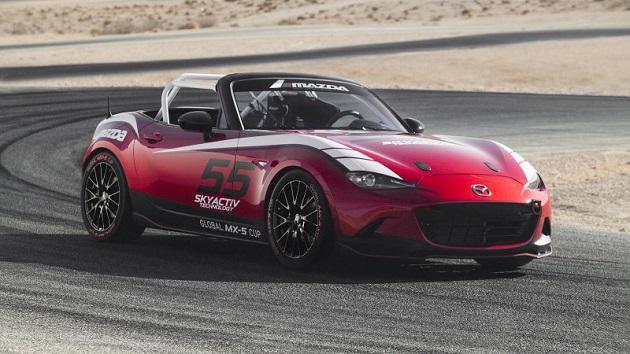 米国マツダ、シミュレーターを使った「マツダ・ホットラップ・チャレンジ」を開催 優勝者にはMX-5ミアータのカップカーをテストドライブできるチャンスが!