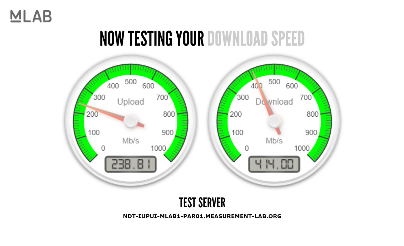 Google is testing internet speeds straight from search
