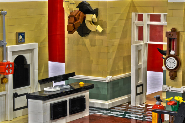 fawlty towers lego