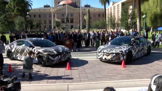 ルーシッド・モーターズ、最高出力1,000馬力の新型電気自動車を米国アリゾナ州で生産すると発表