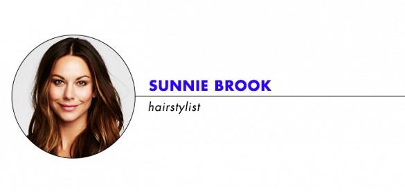 hairstylist Sunnie Brook