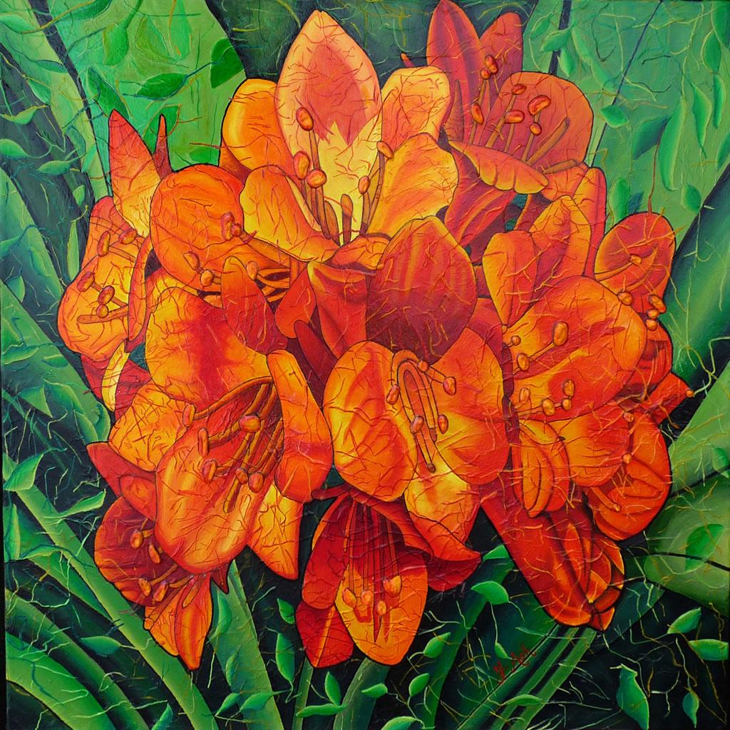 Dans le chant des couleurs: un portrait de l'artiste Ginette