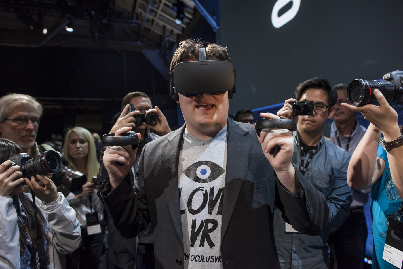 Palmer Luckey and the Oculus Rift