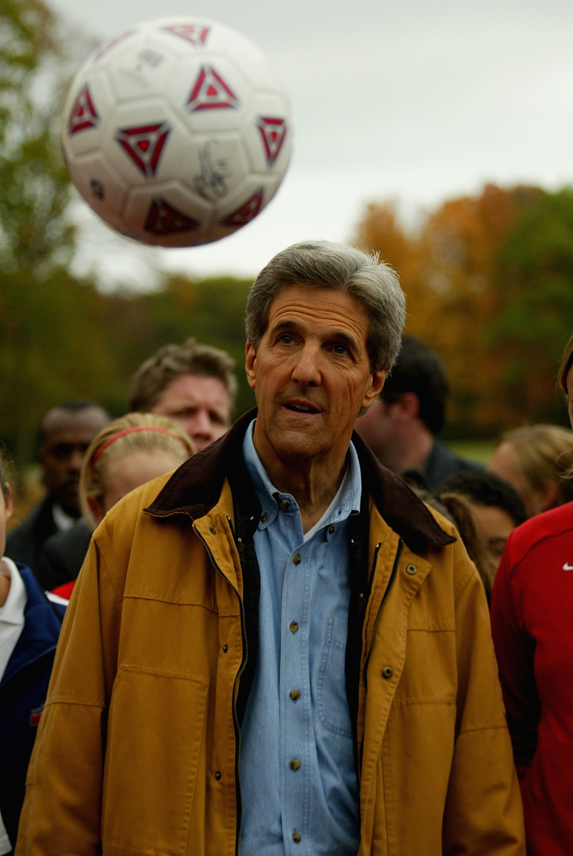 Kerry Campaigns In Wisconsin