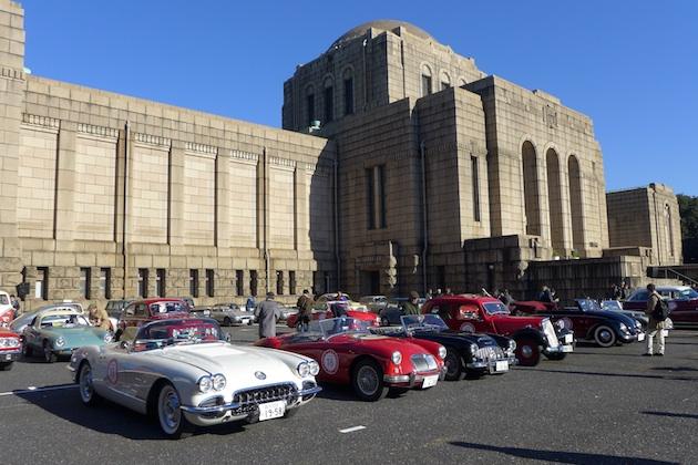 トヨタ博物館 クラシックカー・フェスティバル in 神宮のパレードに、愛車の1967年型アルファ ロメオ 1300GTジュニアで参加した!(前編)