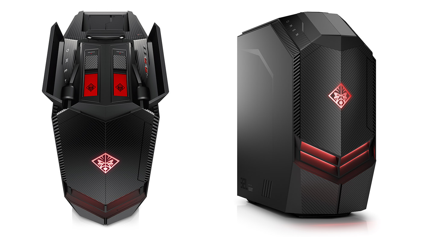 Hp S Fighter Jet Omen Gaming Pcs Are Vr Ready