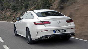 Return to form  2018 MercedesBenz EClass Coupe First Drive
