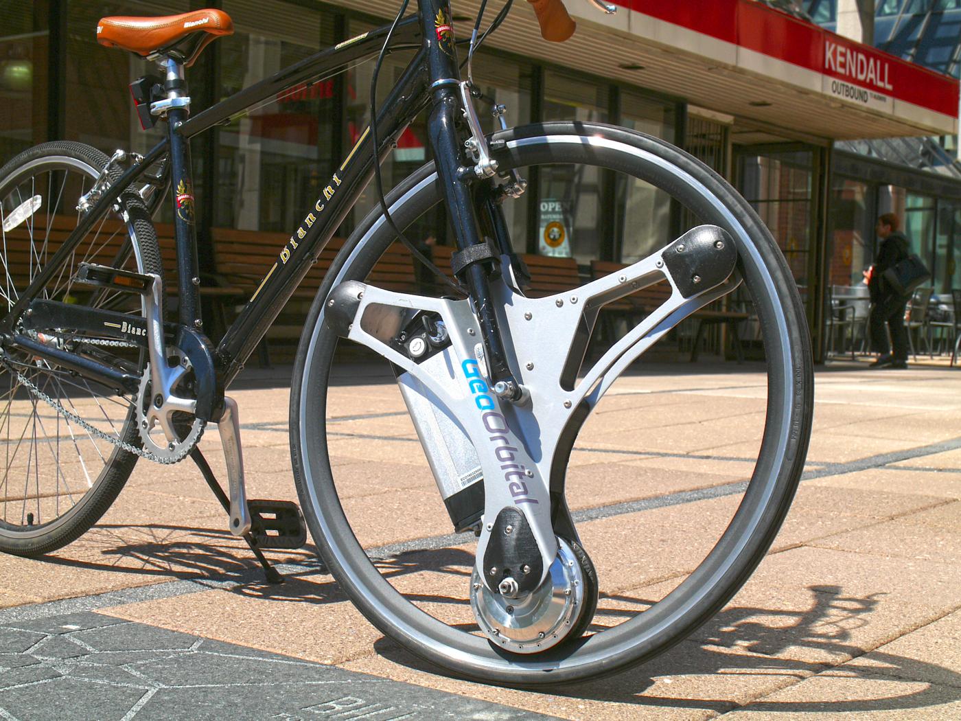 1分で自転車をアシスト付きにする交換ホイール『GeoOrbital Wheel ...