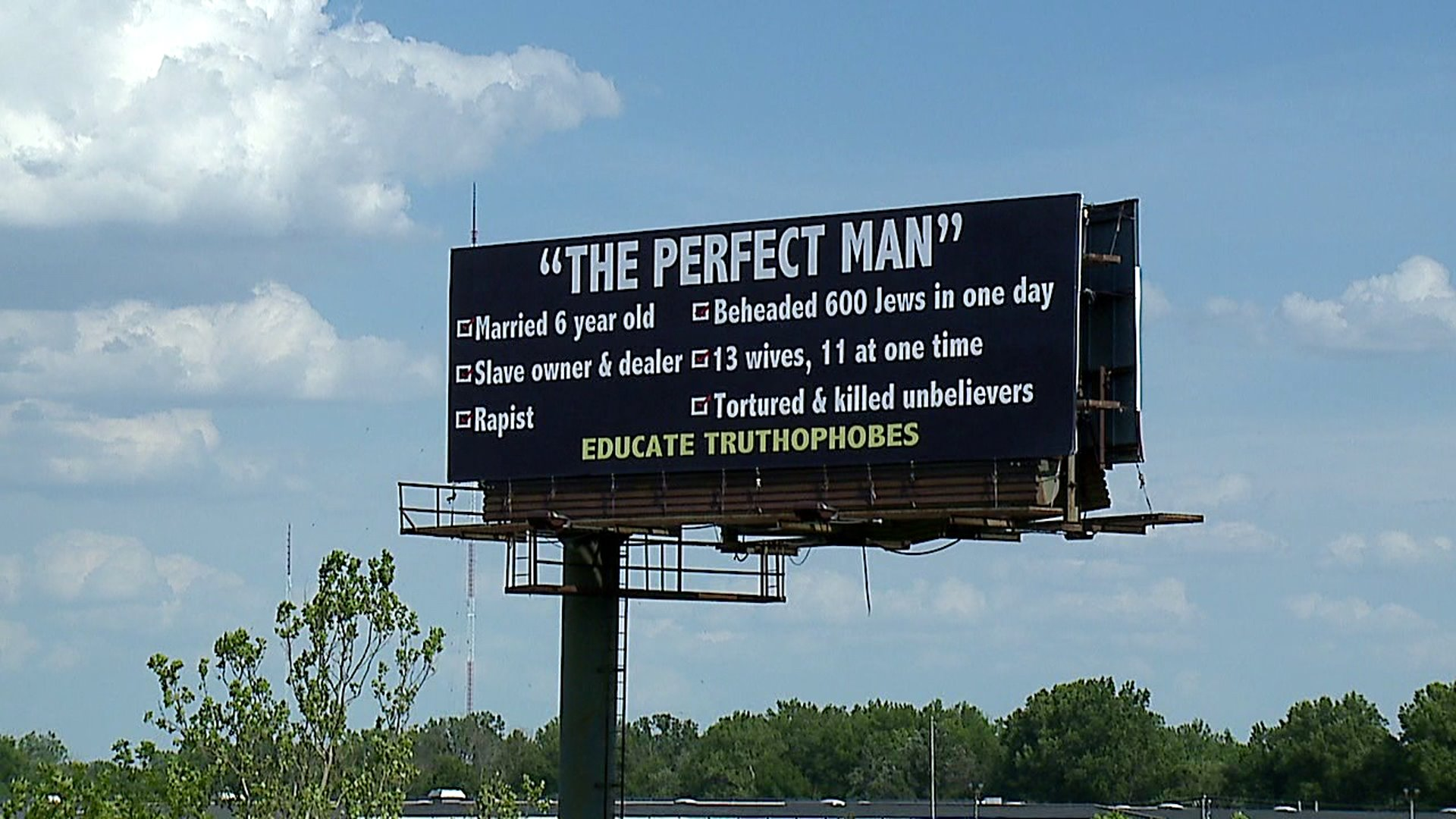 Muslims appalled at perfect man billboard on indiana highway photo wxin stopboris Images