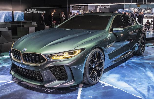 【ジュネーブモーターショー2018】BMW、流麗な新型フラッグシップ・セダンを予告する「コンセプト M8 グランクーペ」を発表!