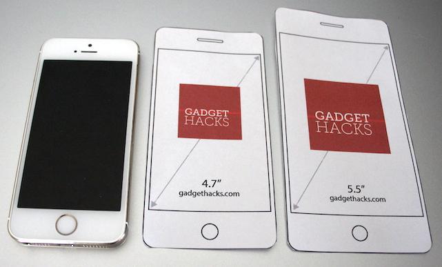 iPhone 5s, iPhone 6 mockup, iPhone 6 Plus mockup