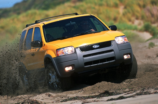 The 2001 Ford Escape gave drivers off-road capabilities in a vehicle with nimble on-road handling.