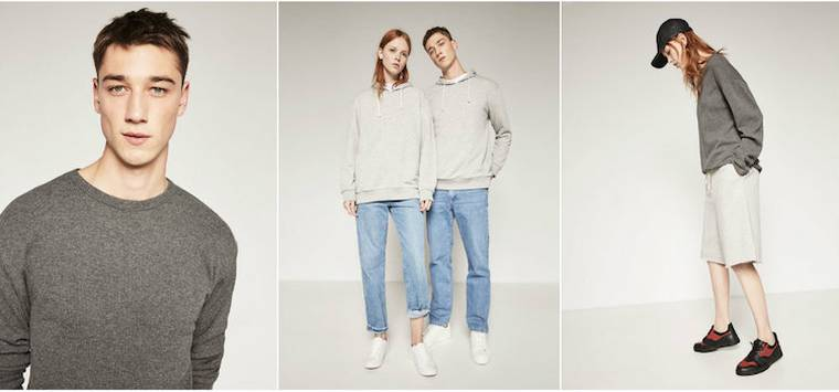 Zara ungendered clothing line