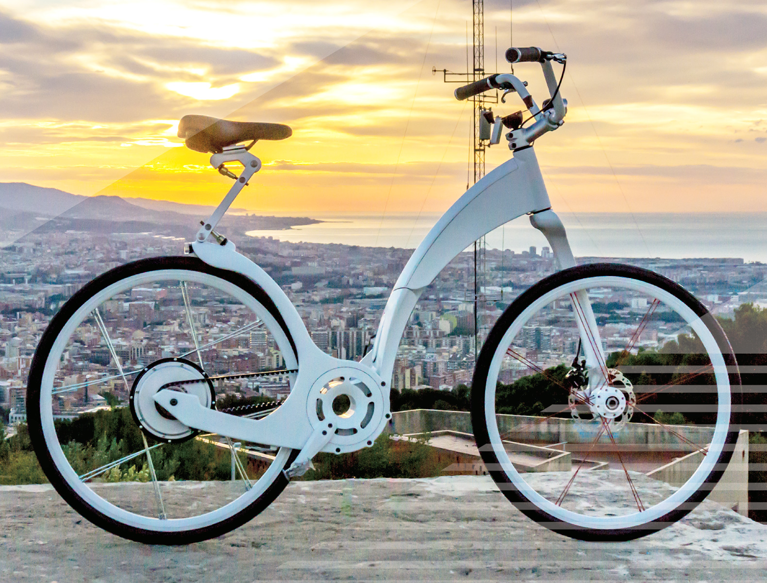 The Gi Flybike Folds In A Single Second