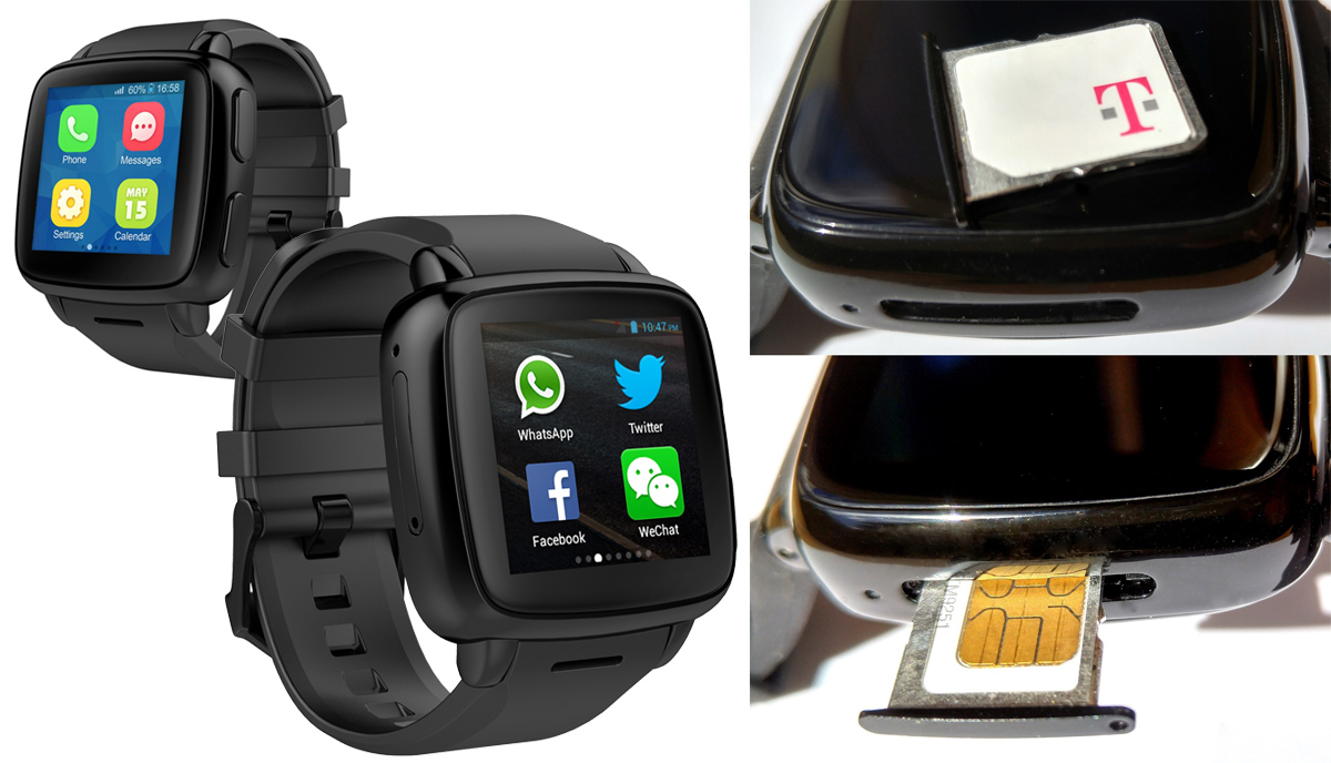 Omate 新推两款手表:其中之一运行 Lollipop,能打电话
