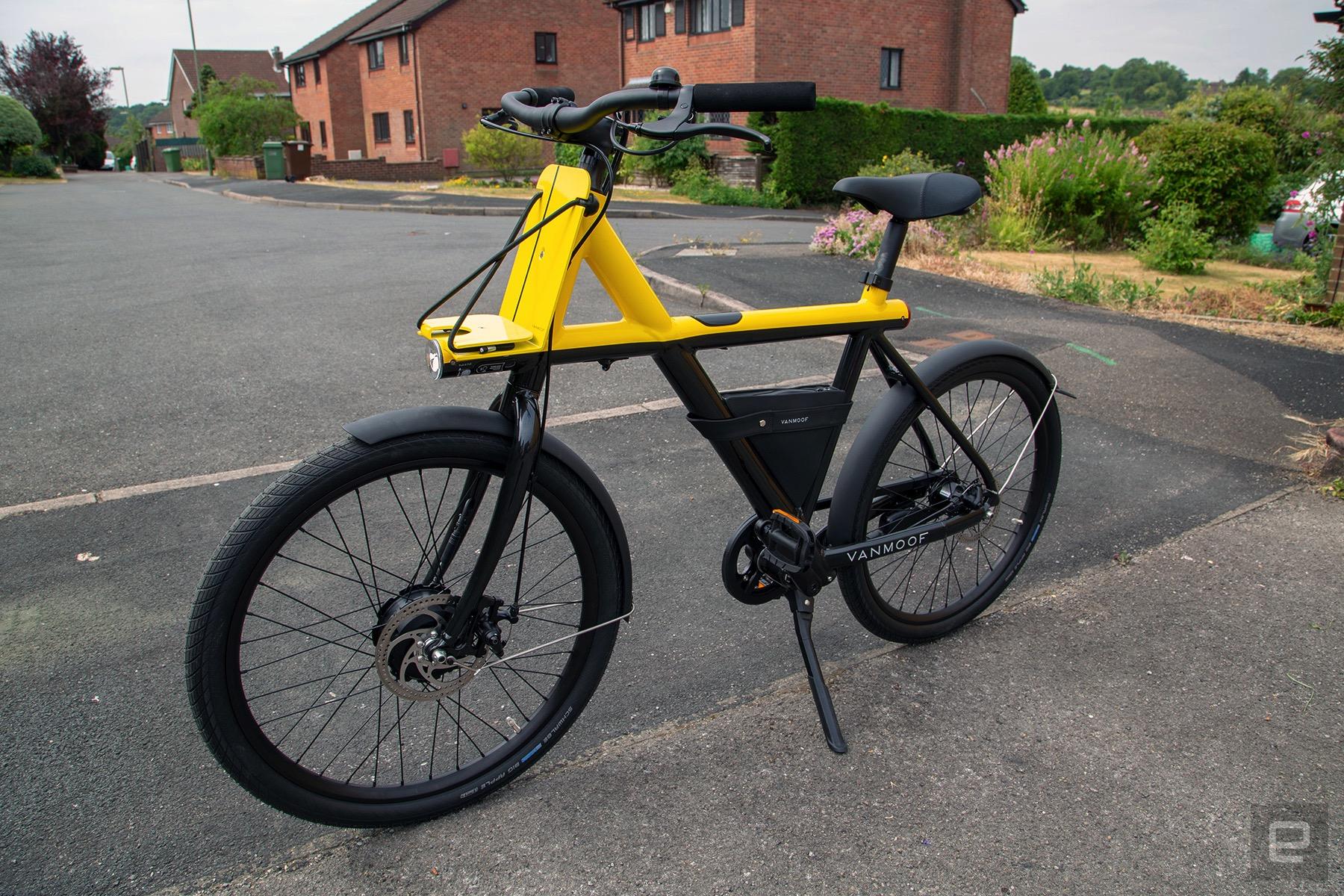 vanmoof electrified x e bike review autoblog. Black Bedroom Furniture Sets. Home Design Ideas