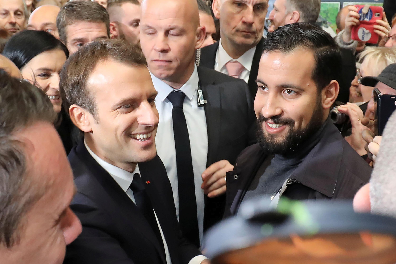 Le President Francais Macron Sur Benalla Le Responsable C