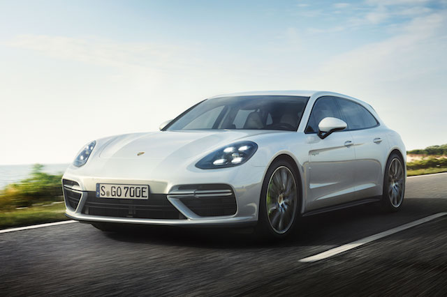 Porsche Panamera Sport Turismo Estate Gets A Hybrid Option