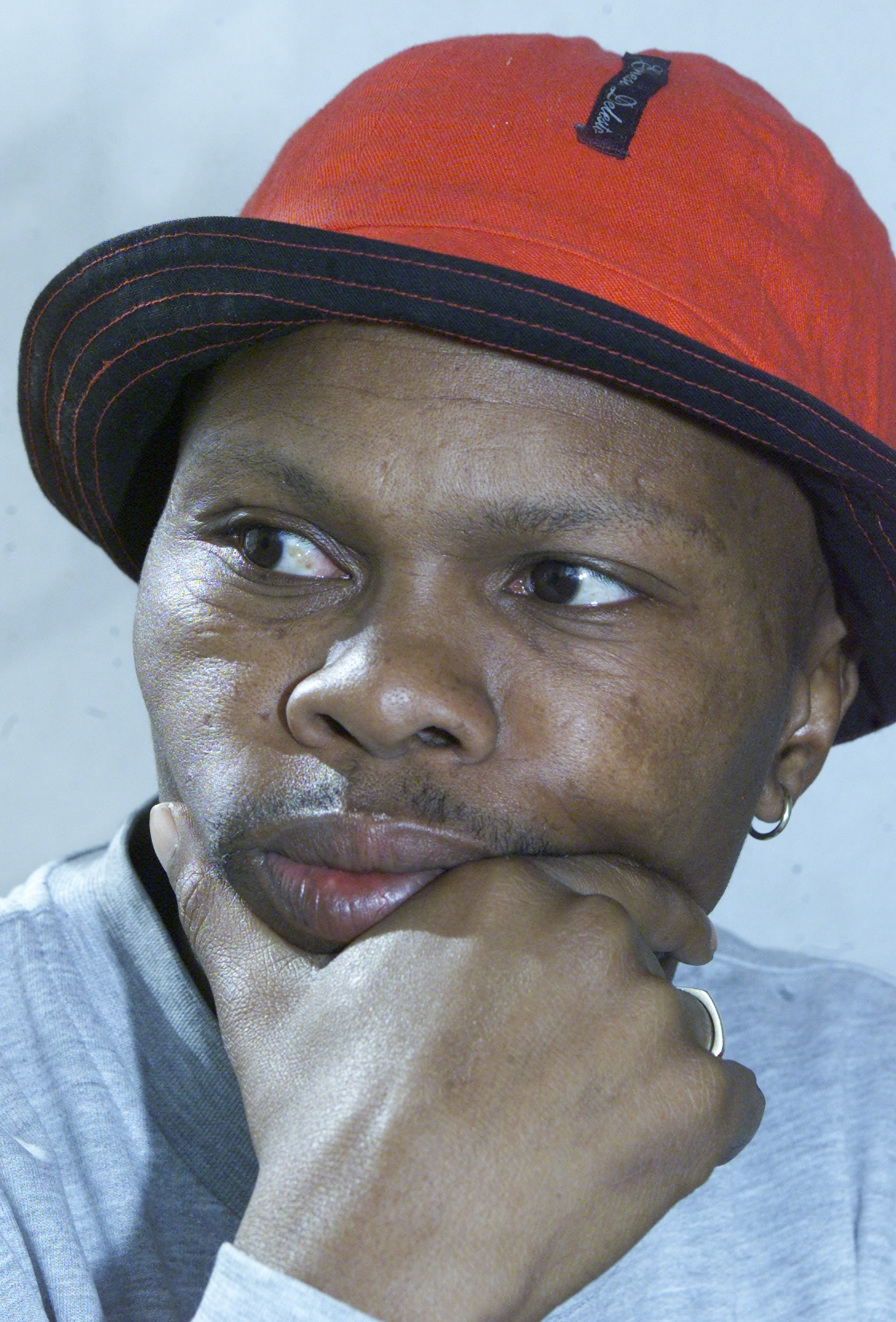 JOHANNESBURG, SOUTH AFRICA � MAY 30: Actor Christopher Kubheka during an interview on May 30, 2017...