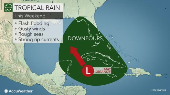 Potential Tropical Storm could make Wednesday landfall
