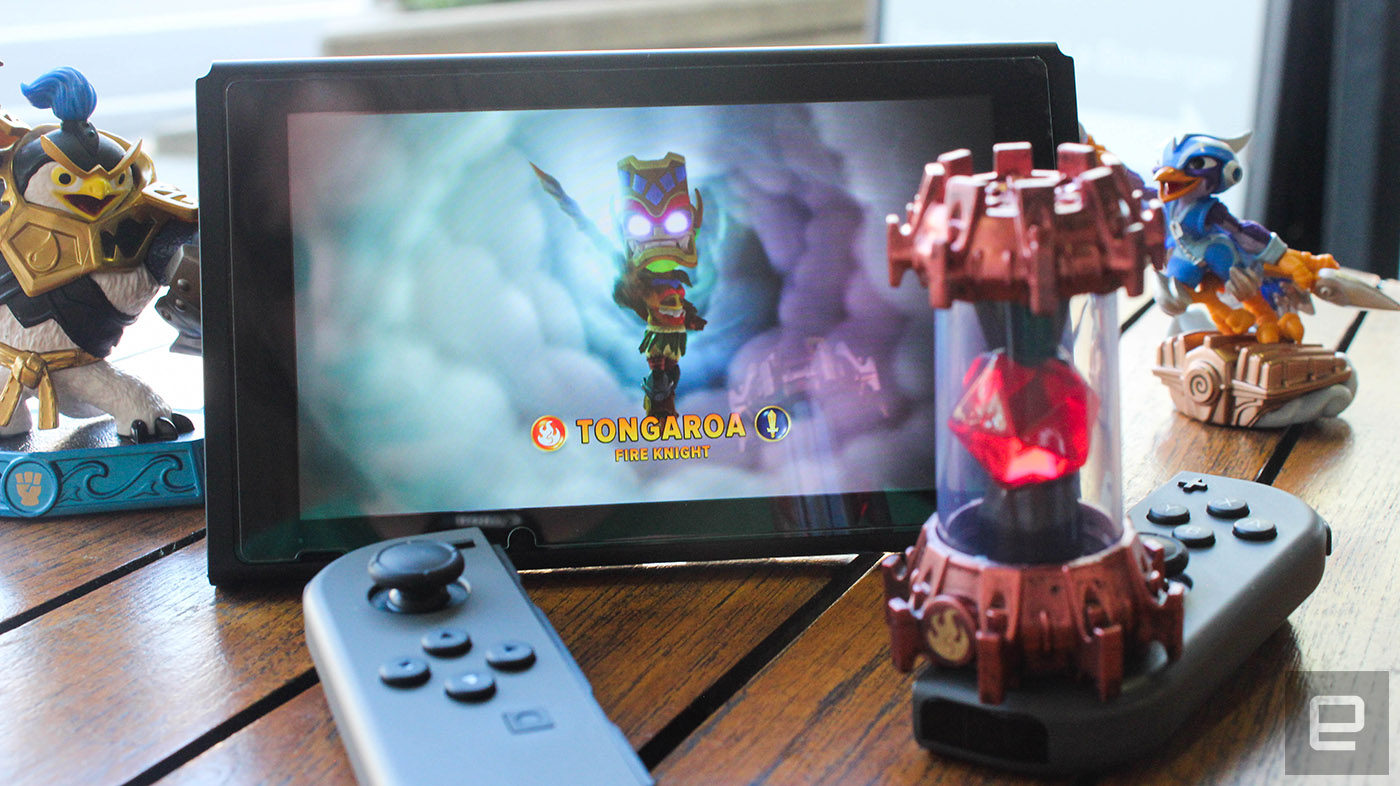 Skylanders Learns What Amiibo Knew All Along Drop The Portal