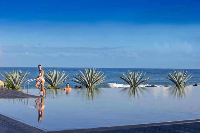 club med mauritius adults-only pool