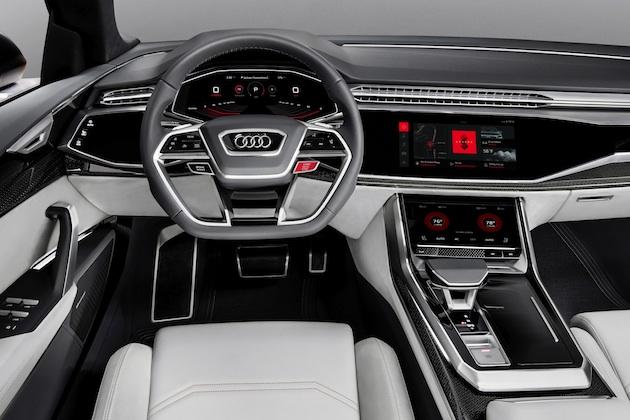 アウディ、「Q8スポーツコンセプト」にAndroidベースの車載インフォテイメント・システムを採用
