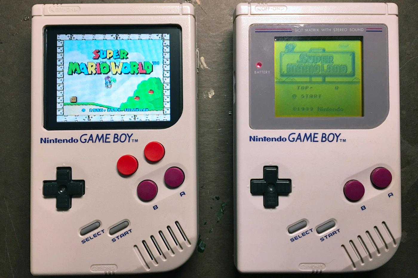 这款经改造的 Game Boy 几乎可以玩到所有经典任天堂游戏