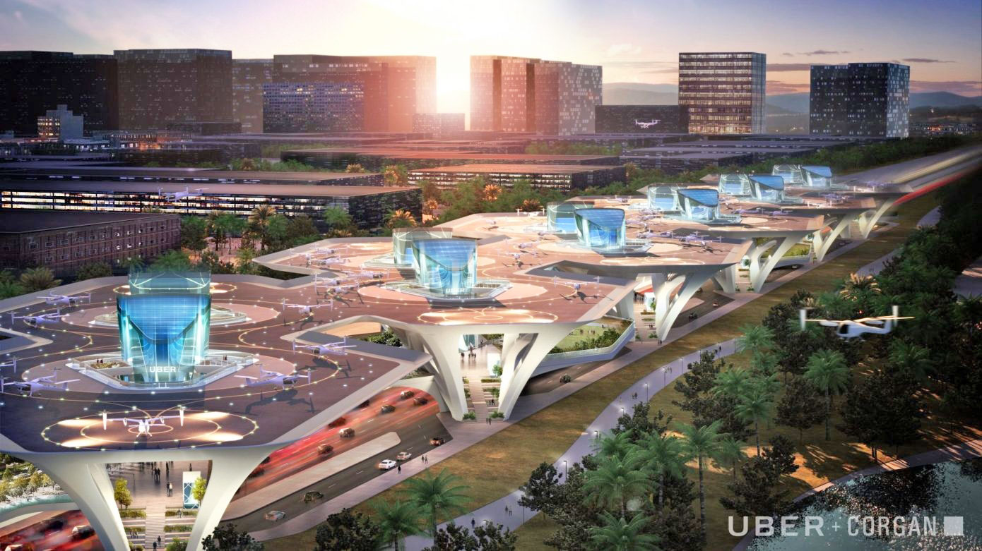 Uber S Skyport Plans Are Straight Out Of Science Fiction