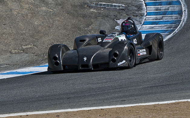 Marcos Ramirez drives the Palatov D1e at Refuel SportElectric TT