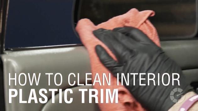 【ビデオ】3分でわかる、車内のプラスチック製トリムをキレイにする方法! しつこい汚れを落とすコツもご紹介