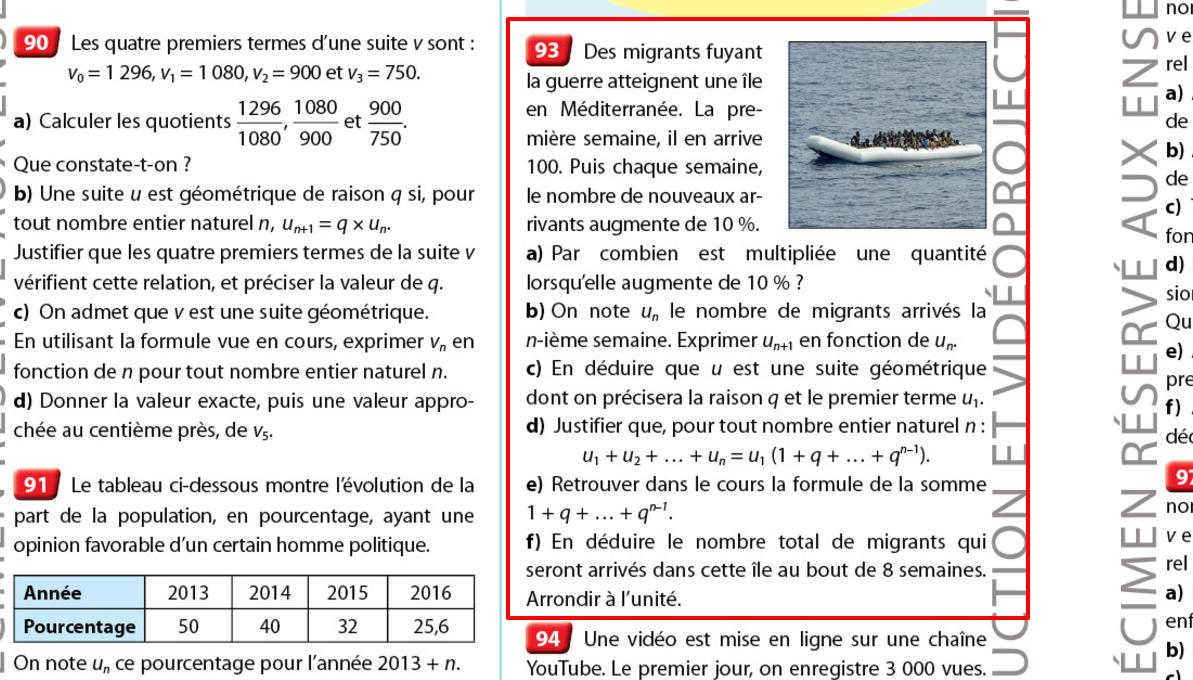 Un manuel Nathan fait polémique en illustrant un problème de maths avec des