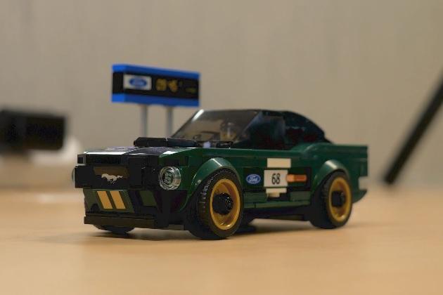 【ビデオ】レゴから手頃な価格で気軽に組み立てられる1968年型フォード「マスタング・ファストバック」のキットが登場!