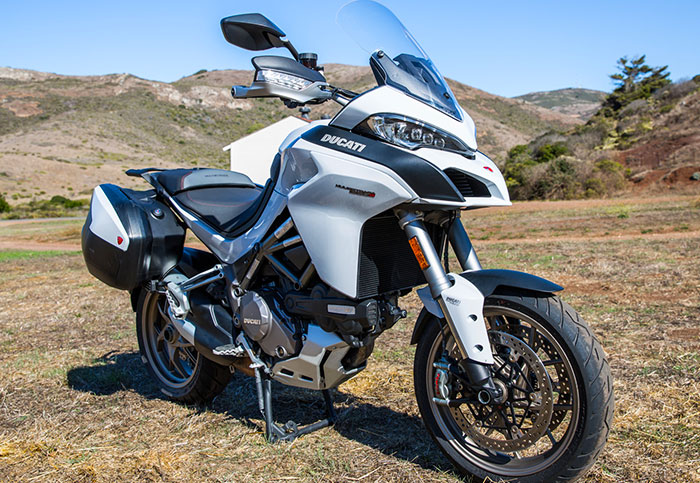 Review:  Ducati's Multistrada brings smarts to two wheels