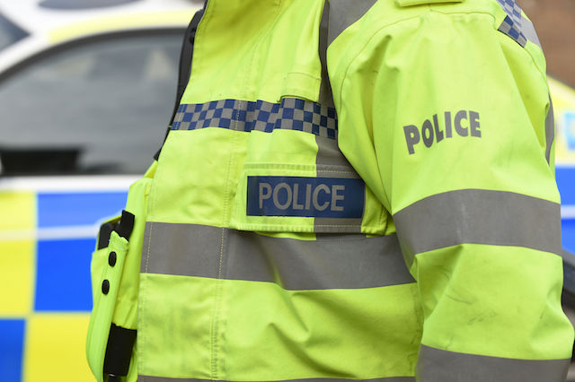 """Embargoed to 0001 Wednesday February 22 File photo dated 22/10/14 of a Police officer, as Scotland's police force has delivered """"substantial improvements"""" in the way it conducts, records and monitors its stop and search activity, according to a new report."""