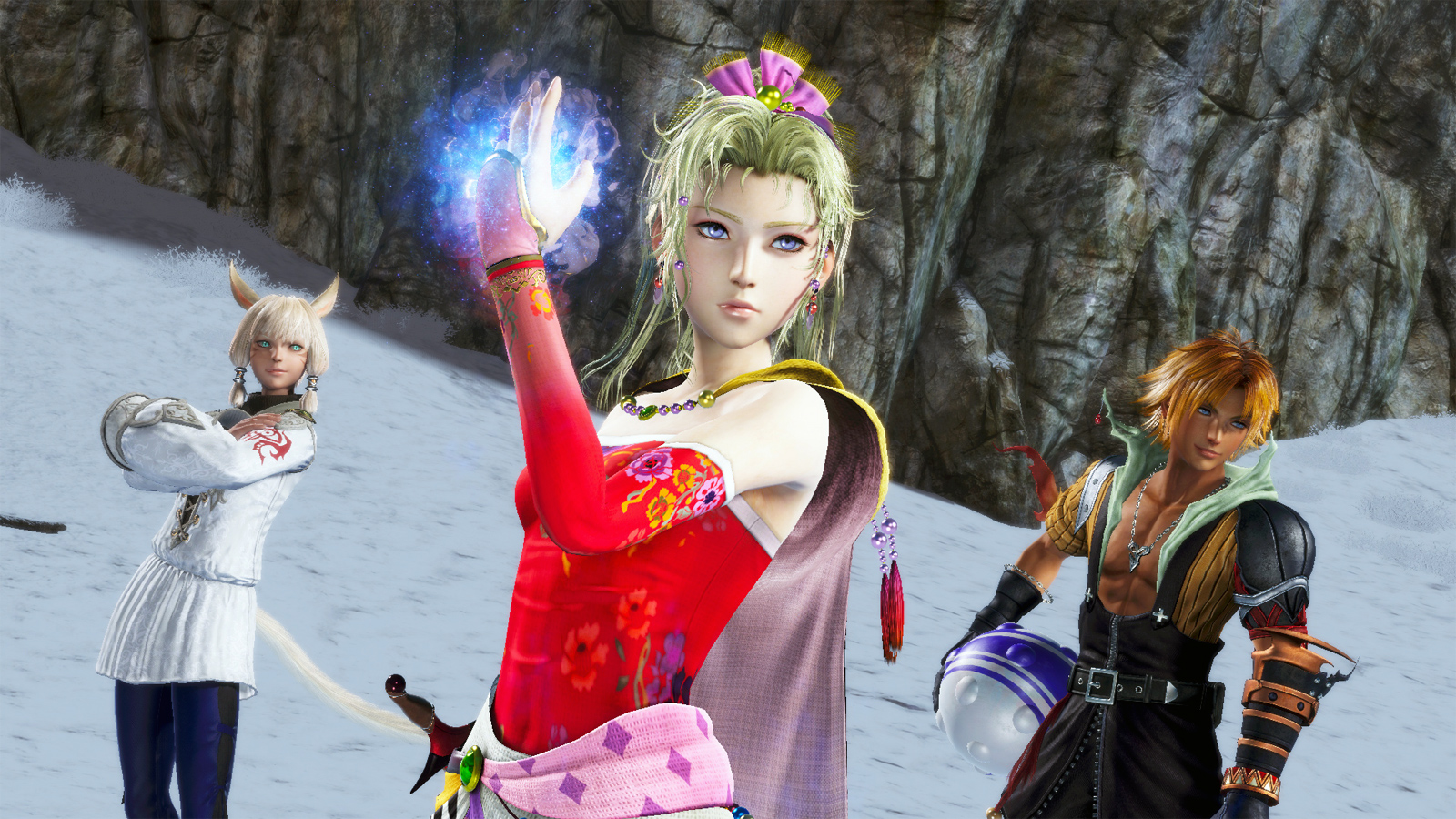 'Dissidia NT' tries to add MMORPG dynamics to a fighting game