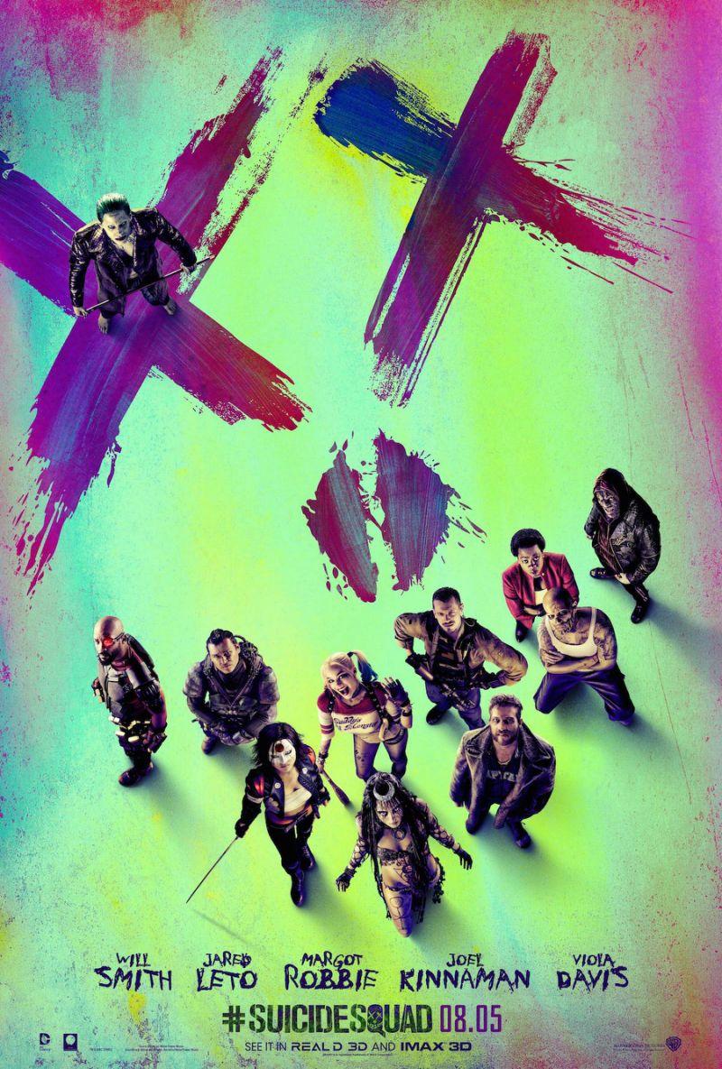 suicide squad, poster, skwad, joker, harley quinn