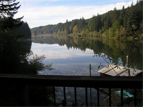 view from 1610 N Ten Mile Ln, Lakeside, OR 97449
