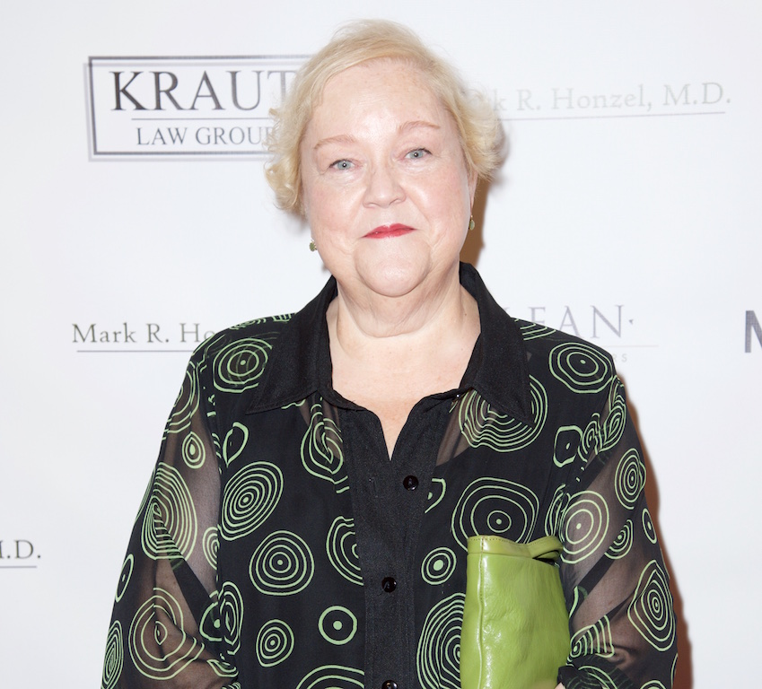 LOS ANGELES, CA - OCTOBER 04:  Actress Kathy Kinney attends The Alliance for Housing and Healing presents the Best in Drag show at Orpheum Theatre on October 4, 2015 in Los Angeles, California.  (Photo by Earl Gibson III/Getty Images)